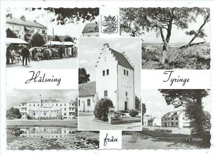 Tyringe 5-bild Bl a Torghandel Hässleholm PB T 79684 A6 vågig kant pg
