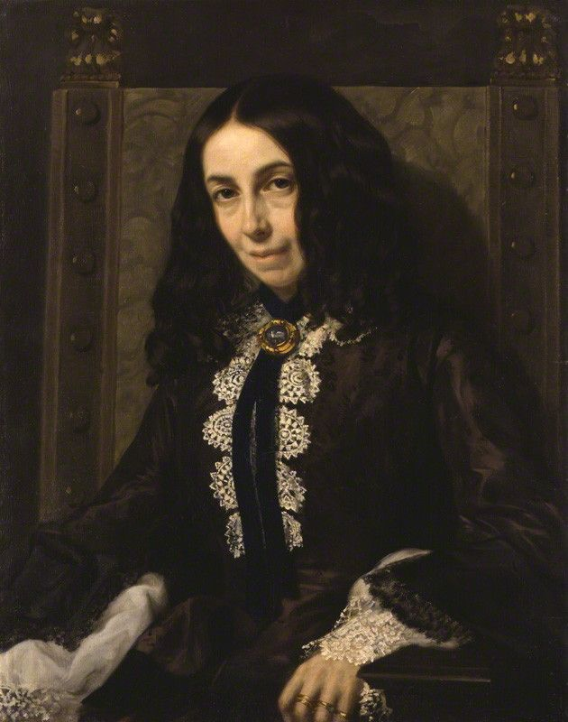 Elizabeth Barrett Browning. 1858. Michele Gordigiani | © National Portrait Gallery, London