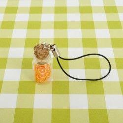 Słoiczek zawieszka - pomarańcze.