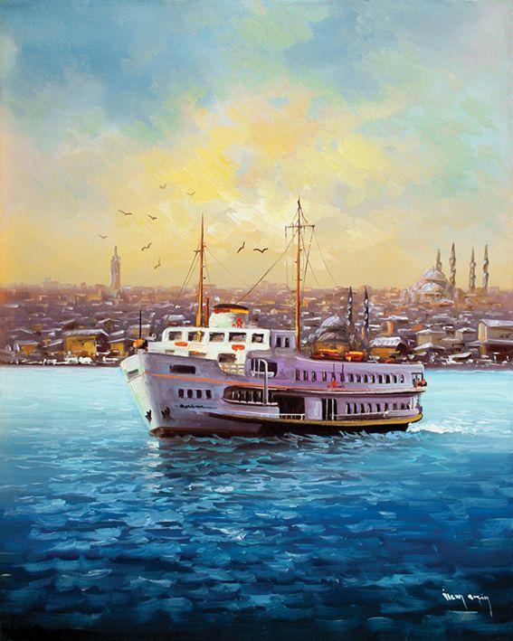 İstanbul Tabloları İST 0103