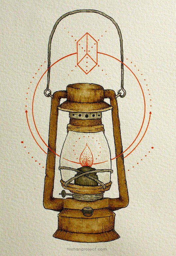 lantern- pen and watercolor illustrations by clint reid.  I have an obsession with lanterns