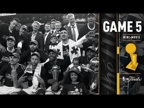 2017 NBA Finals Game 5 Mini-Movie | The Warriors Win the 2016-2017 NBA Championship - YouTube