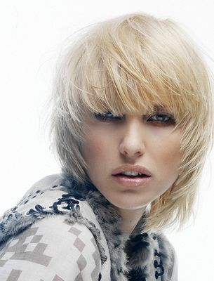 Short Choppy Bob Haircuts | For a square-shaped face, choppy long bob hairstyles are the best ...