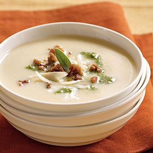 Cooking Light's Tuscan Potato Soup.  Perfect for a fall feast!