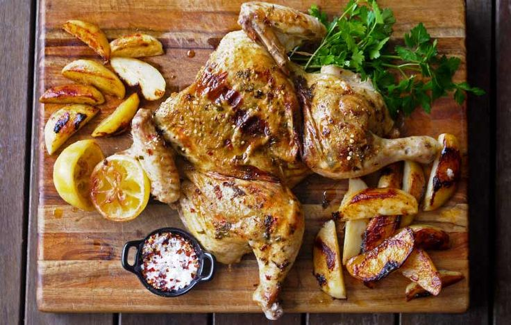 Spiced Chicken with Potatoes - a Julie Goodwin recipe