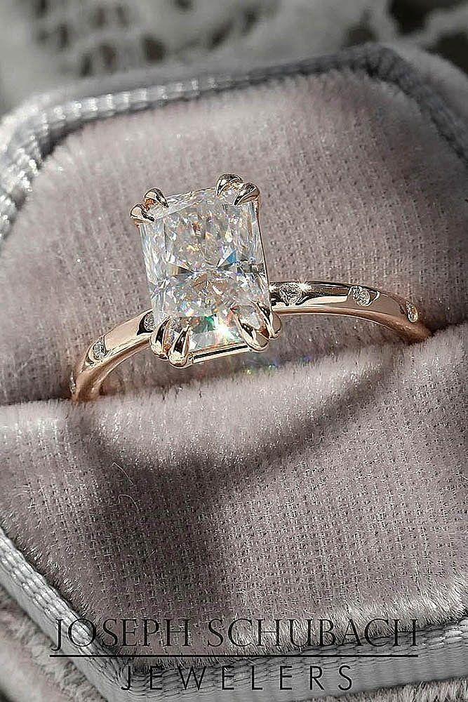 Jewelry & Watches Certifié Gia 3.50 Carat Bague De Fiançailles Diamant Coupe Princesse Outstanding Features Fine Jewelry