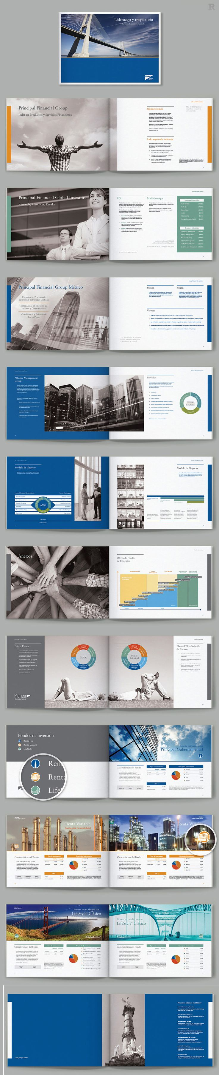 Principal Financial Group Mexico brochure, look it at robertomc.com