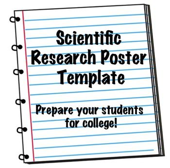 FREE template for scientific research posters
