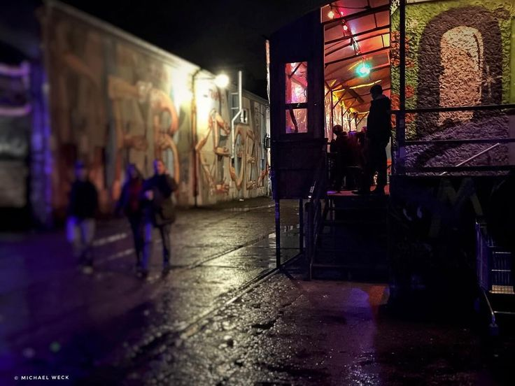 a night with good music and burritos | Berlin - RAW area #berlin
