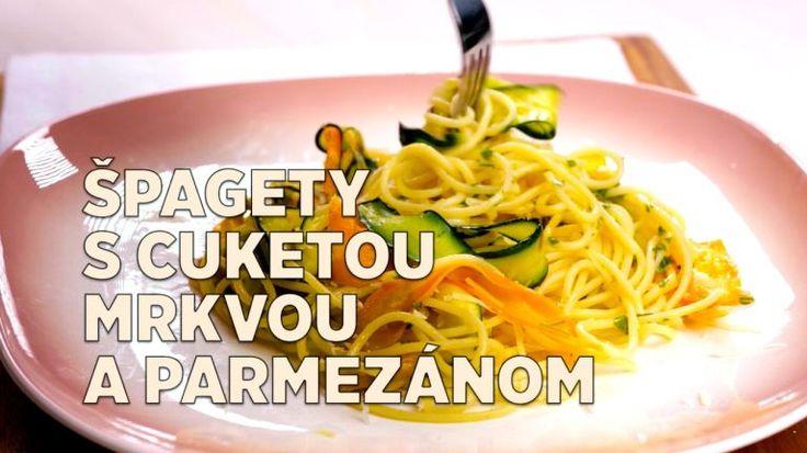 Cestoviny nikdy neomrzia: Špagety s cuketou, mrkvou a parmezánom sú skveý tip na rýchlu večeru | Tivi.sk
