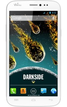 Visuel du téléphone Wiko Darkside Gris