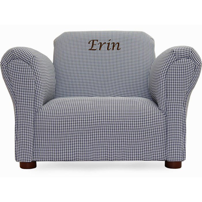 Little-Furniture Personalized Kids Club Chair