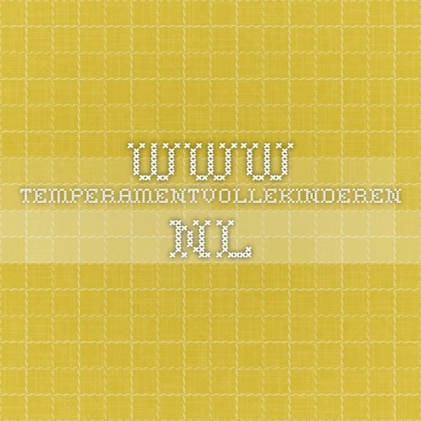 www.temperamentvollekinderen.nl