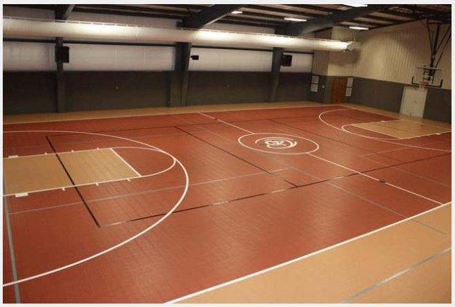 11 best images about indoor courts on pinterest for Sport court floor