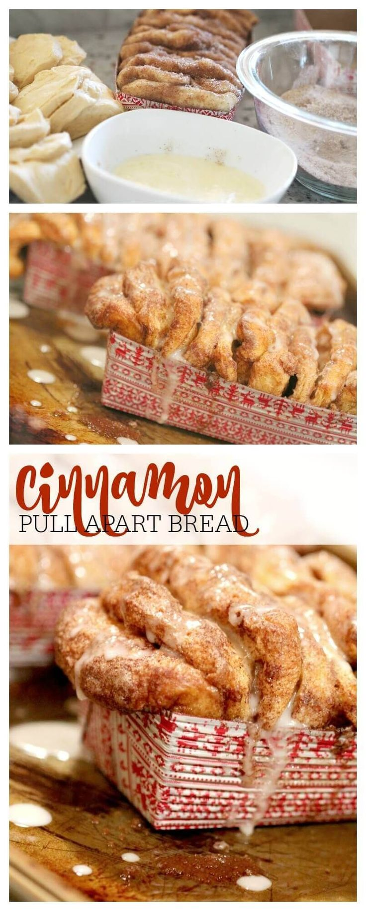 Cinnamon Pull Apart Bread EASY Recipe! You'll be shocked at how easy this recipe is! Plus, a family favorite in my house for Fall and Winter!