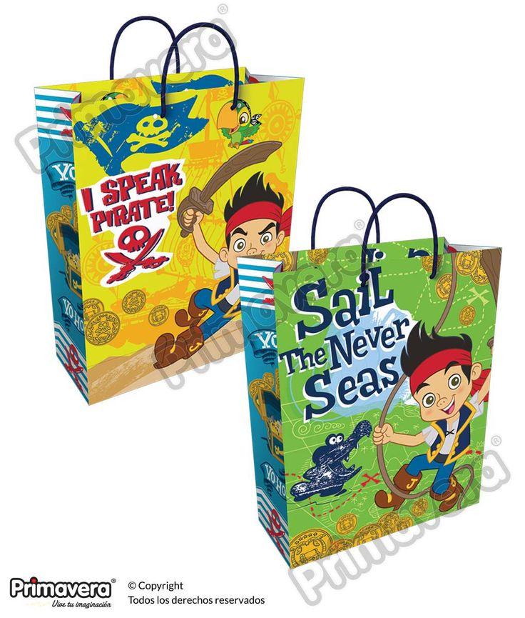 Bolsa Regalo Jake y los Piratas del Nunca Jamas http://envoltura.papelesprimavera.com/product/bolsa-regalo-personajes-jake-y-los-piratas-del-nunca-jamas-3/