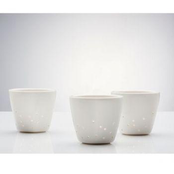 Iittala X Issey Miyake tealight holders