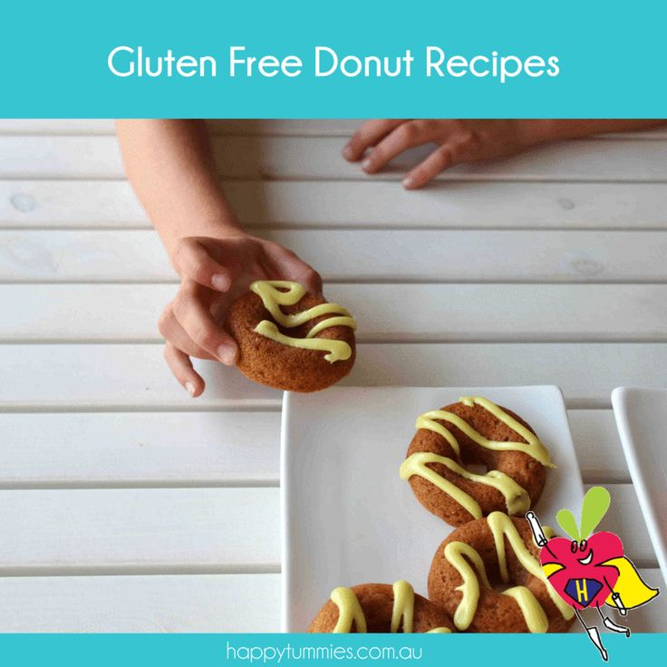 A great list of gluten free donuts you can quickly make at home..... so no one needs to miss out!