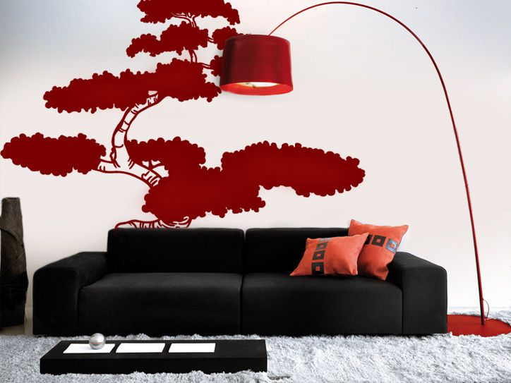 Best Bamboo Wall Decals Images On Pinterest Bamboo Wall Wall - Vinyl wall decals asian