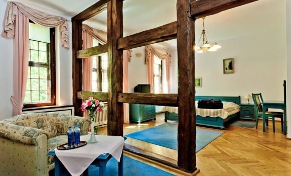 Hotel room in Krokowa Castle