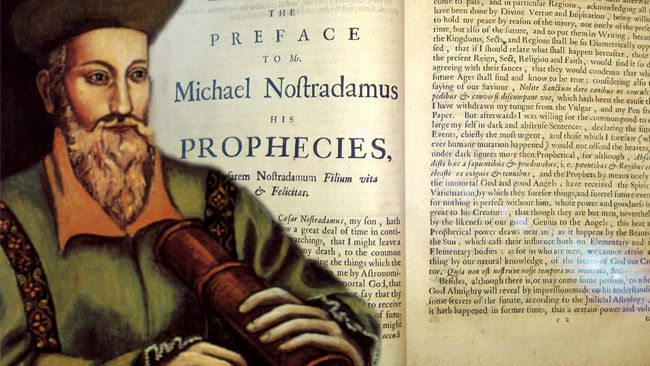 When the great16th Century prophet Nostradamus stared into the future, he described the fate of the final pope with eerie detail. And the first sign will soon be in our skies.