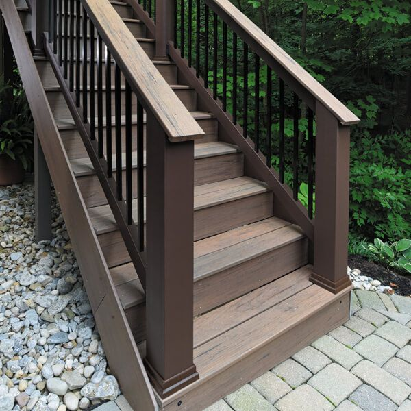 Railings For Composite Decking Timbertech Composite Decking Deck Design Cool Deck