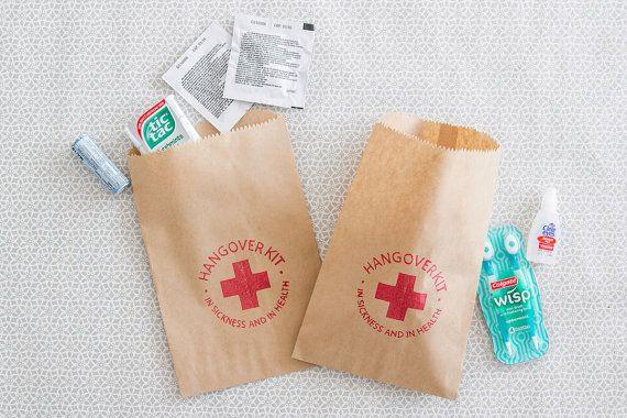 Gueule de bois Kit Bags Kit papier sac gueule de bois