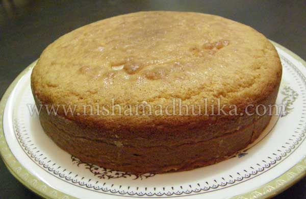 how to cook cake in hindi