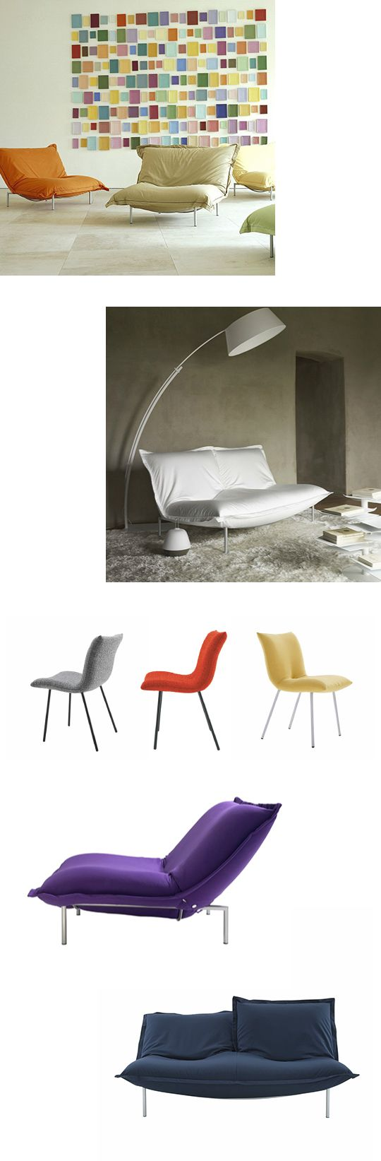 Island dining chair by ligne roset modern dining chairs los angeles - Calin Ligne Roset Seating
