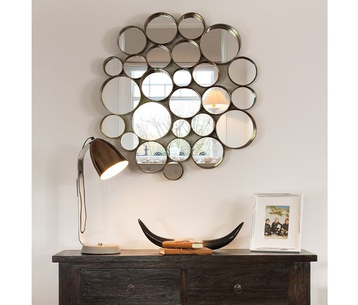 Wall Decor Around Mirror : Best ideas about circular mirror on modern