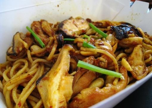 Yellow Cab's Charlie Chan Chicken Pasta