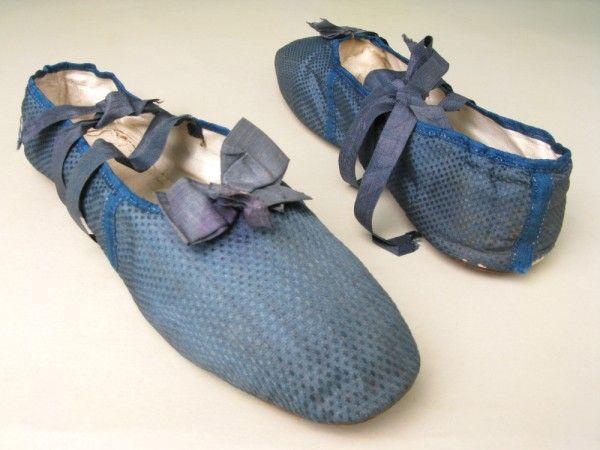 Shoes,  1805-1810.