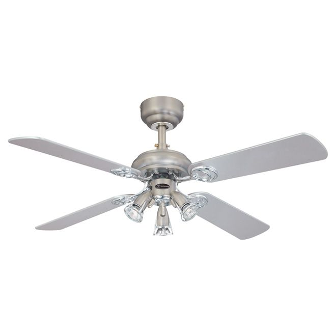 Westinghouse Ceiling Fan 72361 1448 Rona With Images Chrome Ceiling Fan Ceiling Fan