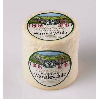 Real Yorkshire Wensleydale Cheese Cloth Bound Truckle (500g)