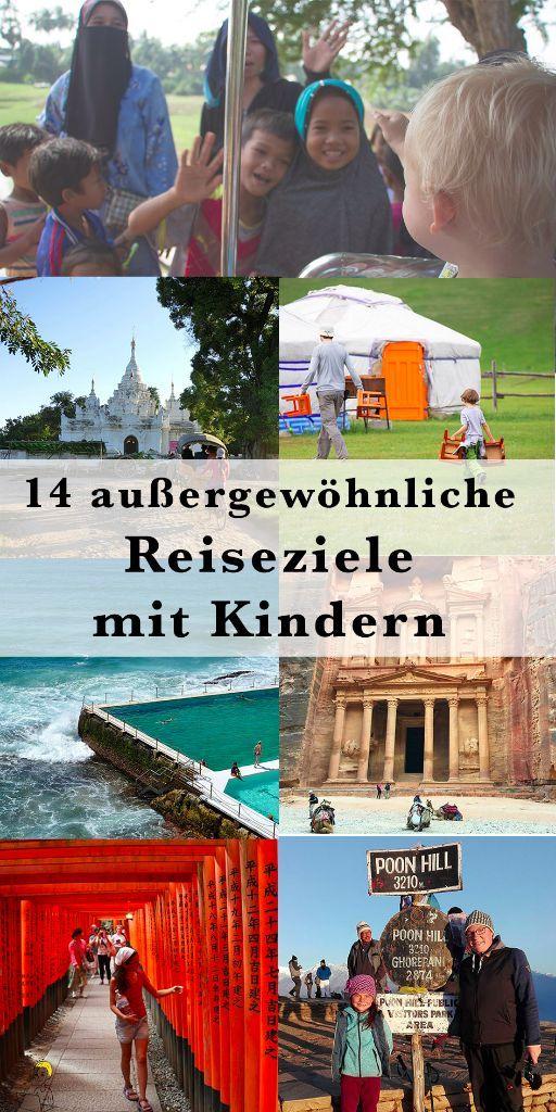 Hier verraten Familienreiseblogger 14 außergewöhnliche, exotische Reiseziele mit Kindern. Lass dich inspirieren für deinen nächsten Familienurlaub voller Abenteuer.