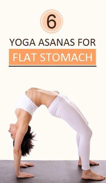 6 Yoga asanas for flat stomach