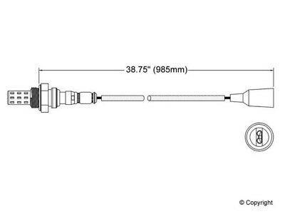 Sponsored Ebay Walker Oxygen Sensor Fits 1979 1987 Bmw 528e
