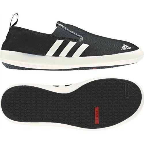 Amazon.com: Adidas Boat Slip On DLX Shoe