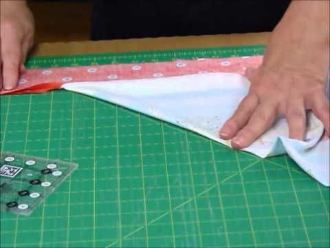 Questo video mostra come aggiungere un singolo bordo di una trapunta con angoli squadrati .