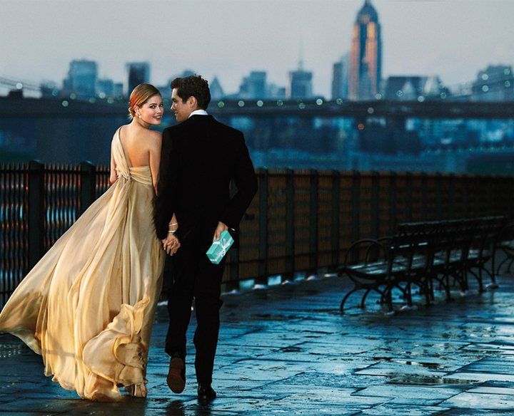 .: Tiffany Engagement Rings, Date Night, New York Cities, Ads Campaigns, Tiffany Boxes, The Dresses, Boxes Cakes, Prince Charms, Doutzen Kroes