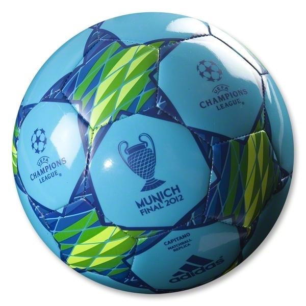 adidas Finale Munich Capitano UEFA Champions League Ball. I want that soccer ball!