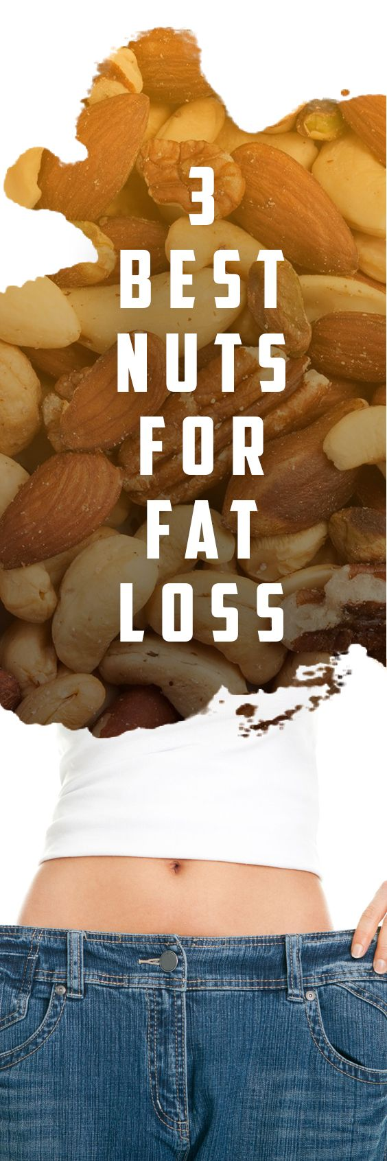 3 Best Nuts For Fat Loss