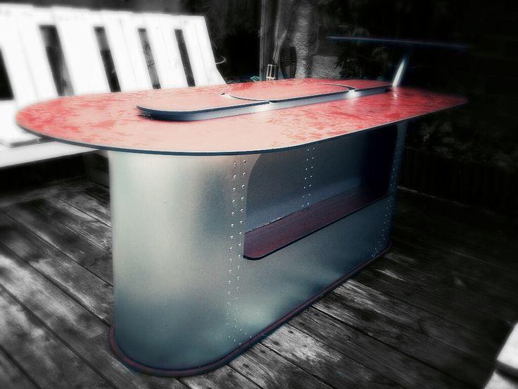 Table basse bar d'extérieur