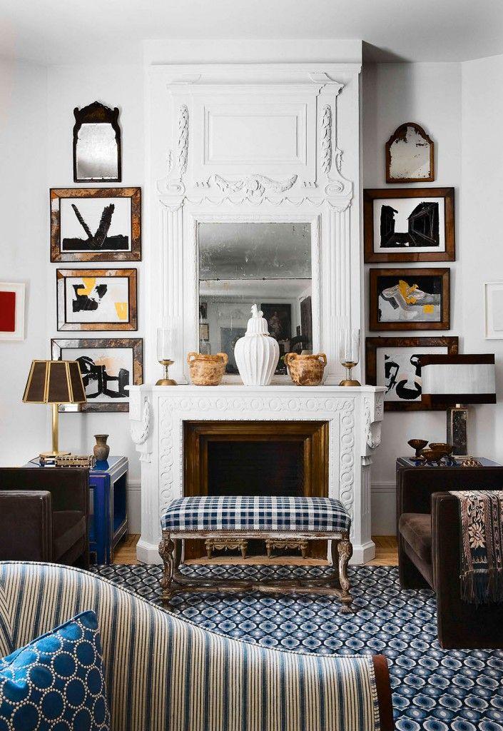 #excll #дизайнинтерьера #решения Пока шел ремонт Лоренцо искал винтажные изделия и мебель 50-60 годов.