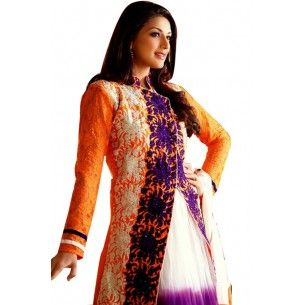 Shop Now - http://www.valehri.com/purple-white-embroidered-designer-indian-salwar-suit-with-dupatta-554