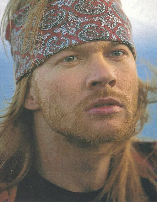 "Axl on the ""Estranged"" set, 1993 He is so pretty! I'm OK with that."