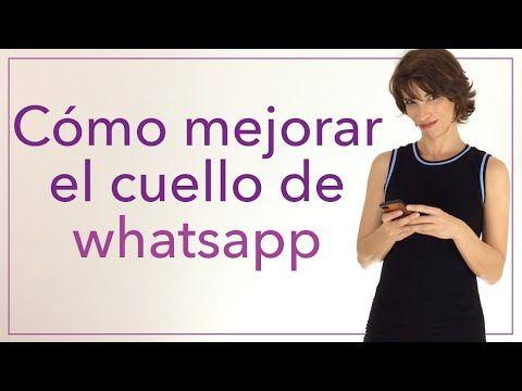 Cómo mejorar el cuello de whatsapp - YouTube