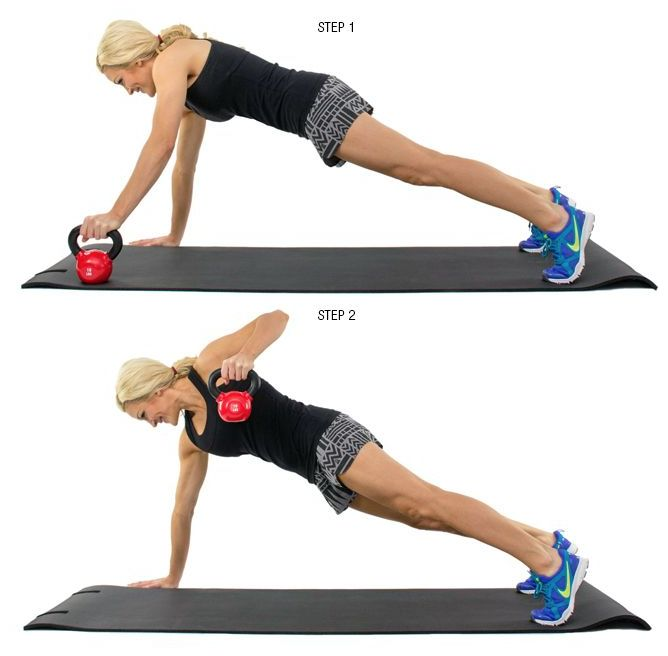 10 Best Kettlebell Exercises For Strong And Sculpted Abs: 10 Best Fitness: Chest Images On Pinterest