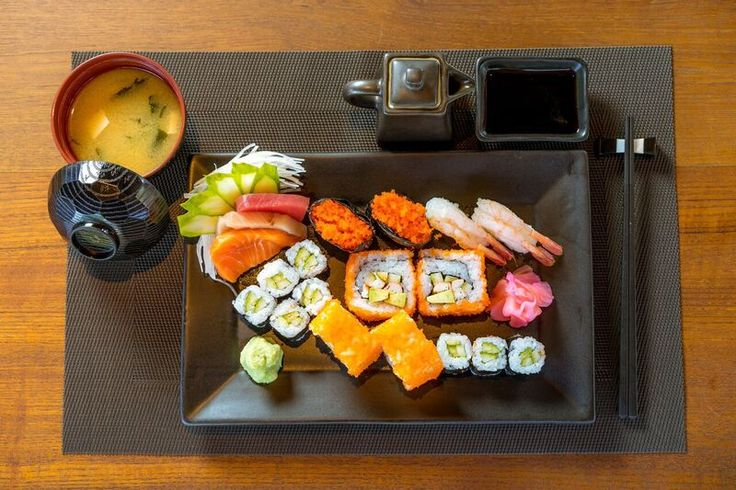That is What Sunday nights are made for! #premium #combos #sushilovers #sushi by #sushibars #diningphuket