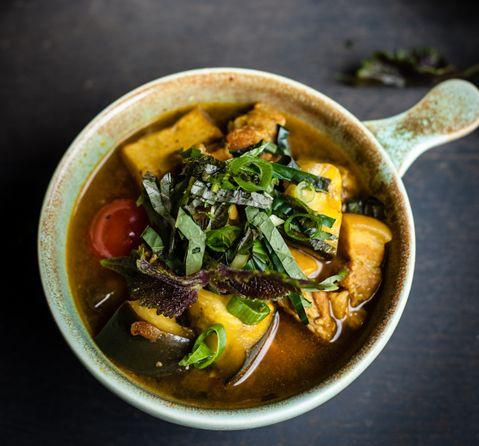 Recipe: Rice Kitchen's Cà bung (eggplant, pork belly and tofu stew)